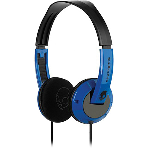 Skullcandy Uprock On-Ear Headphone (Blue and Black)