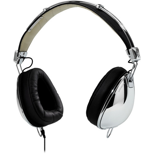 Skullcandy Aviators Over-Ear Headphones (Chrome and Black)
