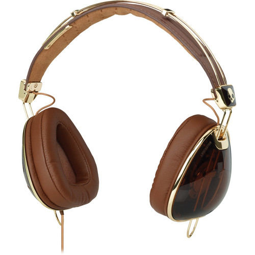 Skullcandy Aviators Over-Ear Headphones (Brown and Green)