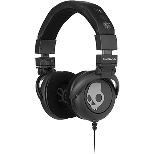 Skullcandy G.I. DJ-Style Stereo Headphones (Black/Grey)