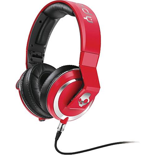 Skullcandy The Mix Master DJ Headphones (Red)