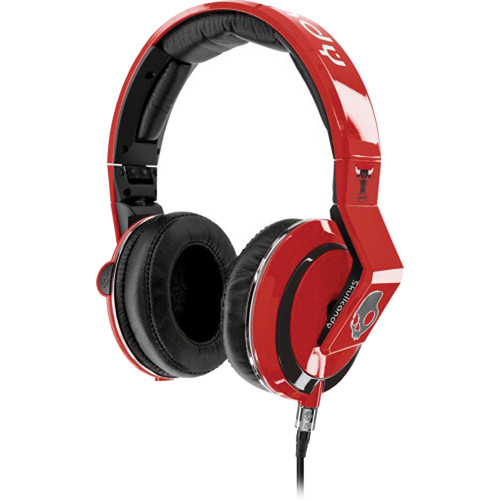 Skullcandy The Mix Master DJ Headphones (Bulls)
