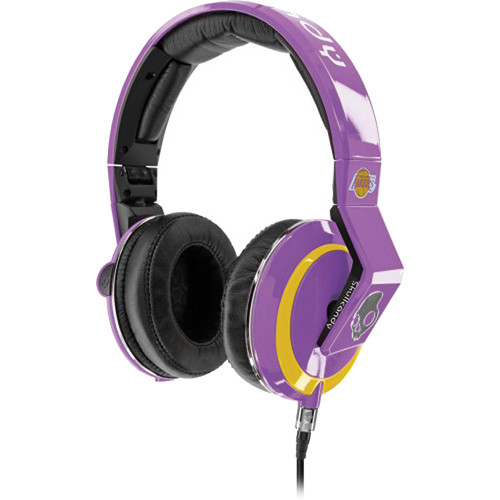 Skullcandy The Mix Master DJ Headphones (Lakers)