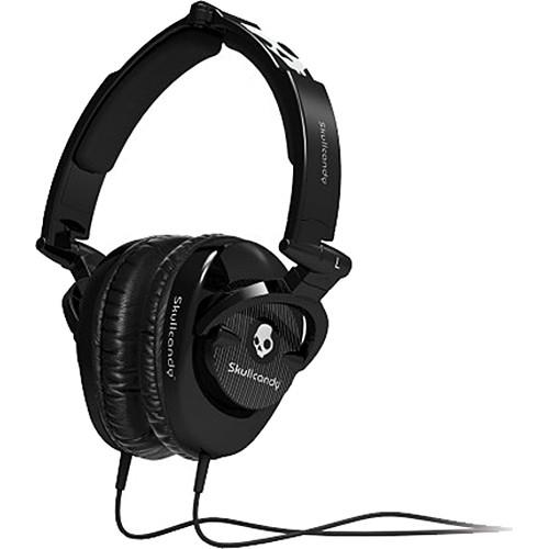 Skullcandy Skullcrushers DJ-Style Stereo Headphones with Subwoofer (Black)