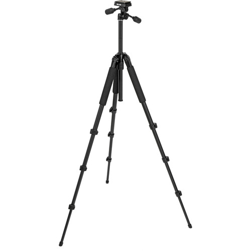 Slik Sprint Pro II 4-Section Tripod w/ 3-Way Panhead (Black)