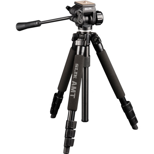 Slik PRO 340 QF AMT Tripod with 504QF-II Pan/Tilt Head