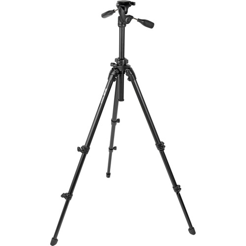 Slik Able 300 DX Tripod with 3-Way, Pan-and-Tilt Head