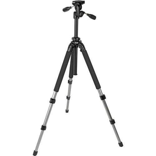 Slik Pro 700 DX Tripod with 700DX 3-Way, Pan-and-Tilt Head (Titanium)