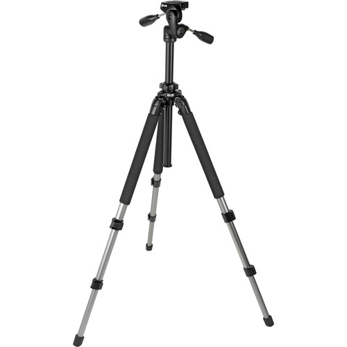 Slik Pro 700DX AMT Tripod With 3-Way Pan and Tilt Head (Silver)