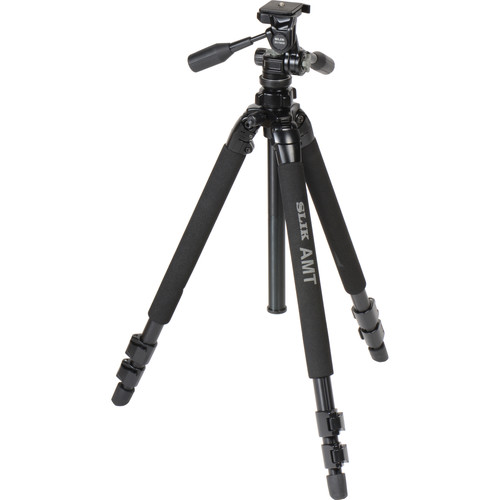 Slik PRO 500HD Tripod with 3-Way Panhead with Quick Shoe