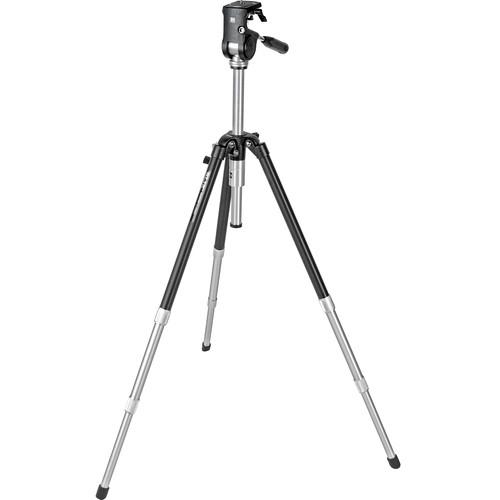 Slik Master Classic Tripod with Master Classic 2-Way, Pan-and-Tilt Head