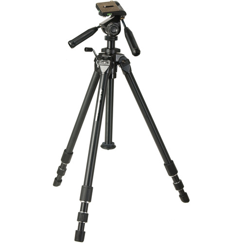 Slik PROFESSIONAL II-LE Aluminum Tripod with 3-Way Pan Head