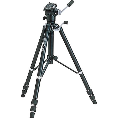Slik 505QF Tripod with Fluid Panhead (Quick Release) - Supports 11 lbs