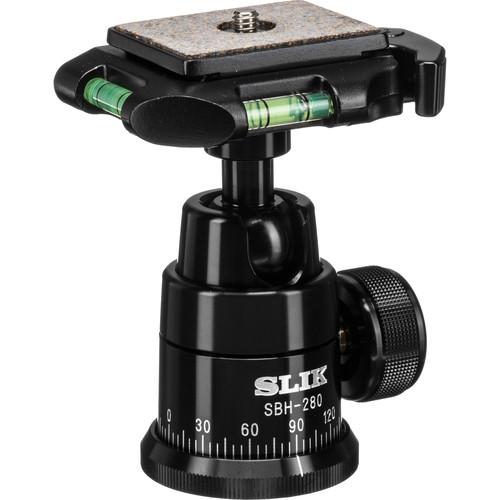 Slik SBH-280E Professional Ballhead with Quick Release