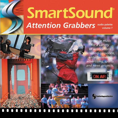 SmartSound Attention Grabbers (44k) - Audio Palette Volume 7
