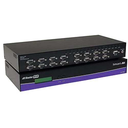 Smart-AVI AV08X08S 8x8 UXGA Video Router