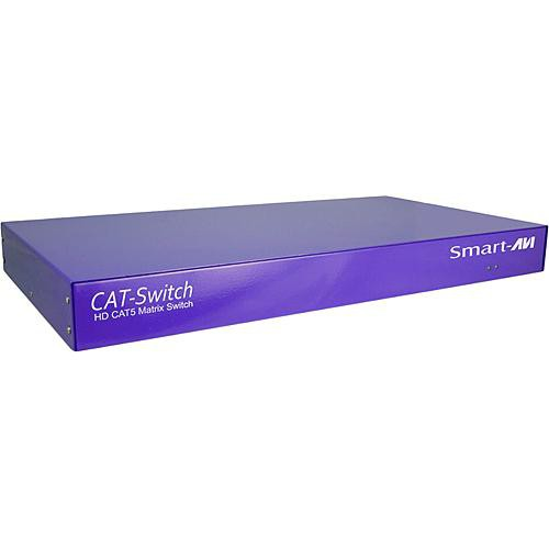 Smart-AVI CSW08X08S CATSWITCH 8x8 Matrix with RS-232 Control