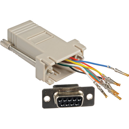 Smart-AVI DB9F-RJ45F RS-232 RJ-45 Adapter