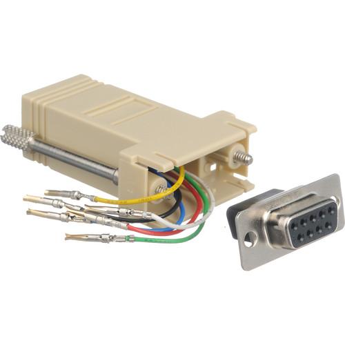 Smart-AVI DB9M-RJ12F RS-232 RJ-12 Adapter
