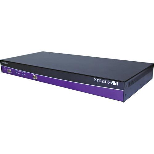 Smart-AVI FDX-S2P Fiber Extender with Power Supply