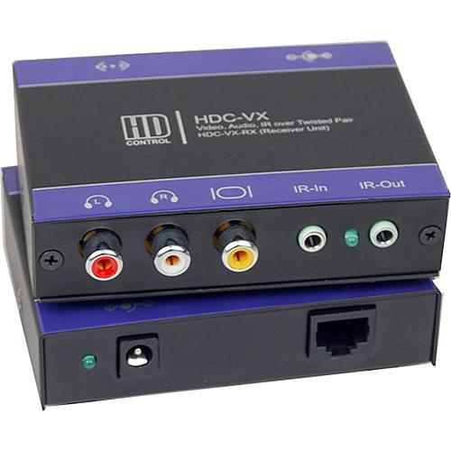 Smart-AVI HDC-VXS CAT5 IR AV Extender