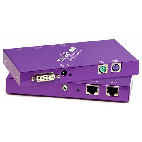 Smart-AVI KDX-RX200S DVI-D / Audio / PS2 CAT6 STP Receiver