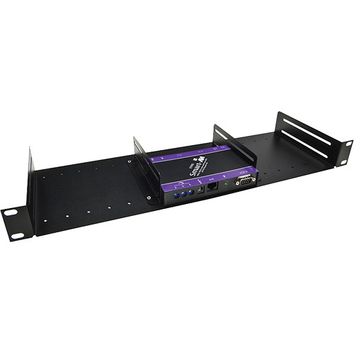 Smart-AVI SM-Rack 1U Universal Half Rack Shelf System (Black)