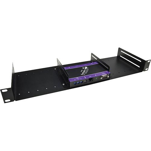 Smart-AVI SM-Rack 1U Universal Half Rack Shelf System (Black)