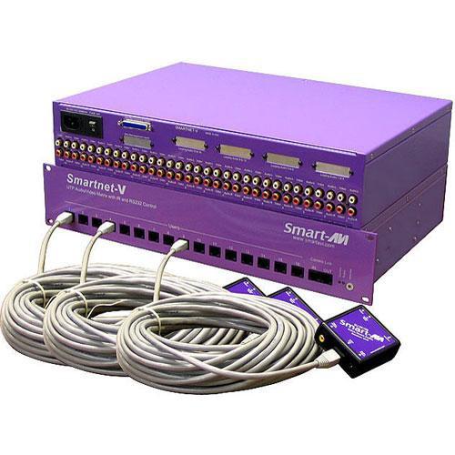 Smart-AVI Smartnet-V 32x16 Composite Audio & Video Matrix