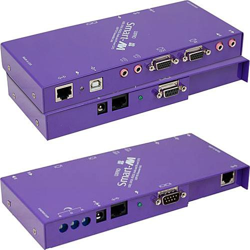 Smart-AVI UXPRO USB 1.1, VGA, Stereo Audio, RS-232, and IR Extender