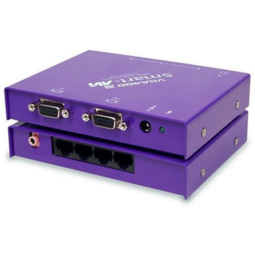 Smart-AVI VCA400S - Four-Zone Cat-5 Video and Audio Distributor for the PC