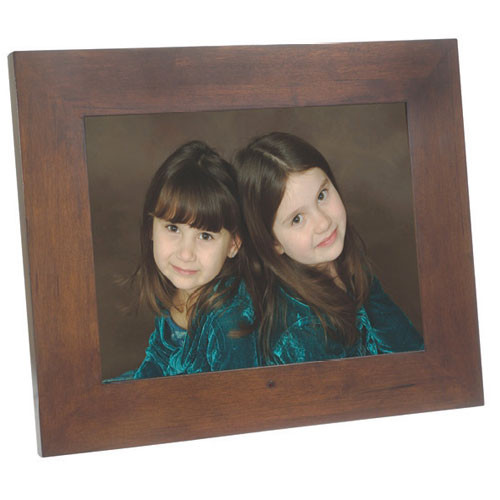 "Smartparts 15"" Digital Picture Frame (Walnut)"
