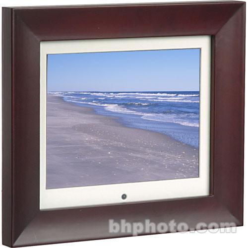 "Smartparts 8"" Digital Picture Frame (Dark Red)"
