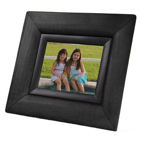 "Smartparts SP70EWB 7"" Digital Picture Frame with Black Wood Border"