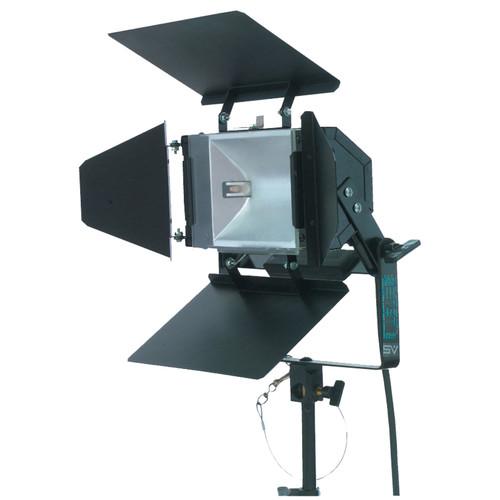 Smith-Victor 750SG 1,000 Watt Quartz Broad Light with 4 Leaf Barndoors (120V)