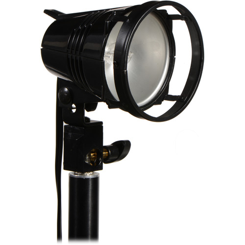 "Smith-Victor Q250-SG 250 Watt AC Video Light with 7"" Mounting Arm"