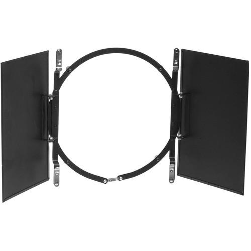"""Smith-Victor BD100 2-Leaf Barndoor Filter Holder for 10"""" Lights"""