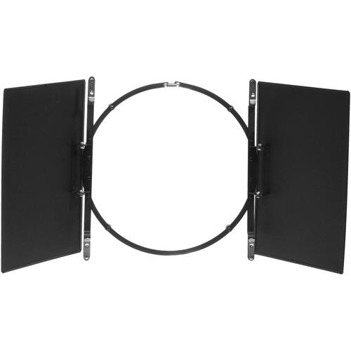 """Smith-Victor BD120 2-Leaf Barndoor Filter Holder for 12"""" Lights"""