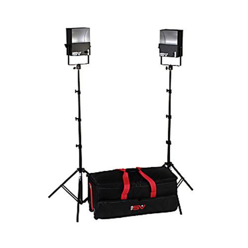 Smith-Victor SL200 2-Light 1200 Watt Softlight Location Kit