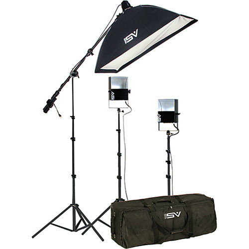 Smith-Victor SL260 3-Light 1450 Watt Softlight Studio Portrait Kit (120V AC)