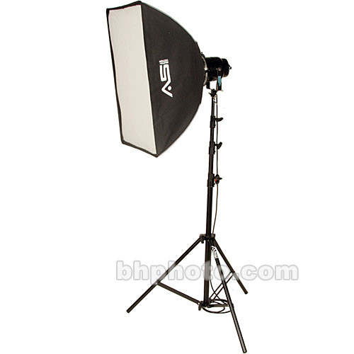 Smith-Victor K72 1-Light 1000 Watt Professional Portrait Soft Box Kit (120V)