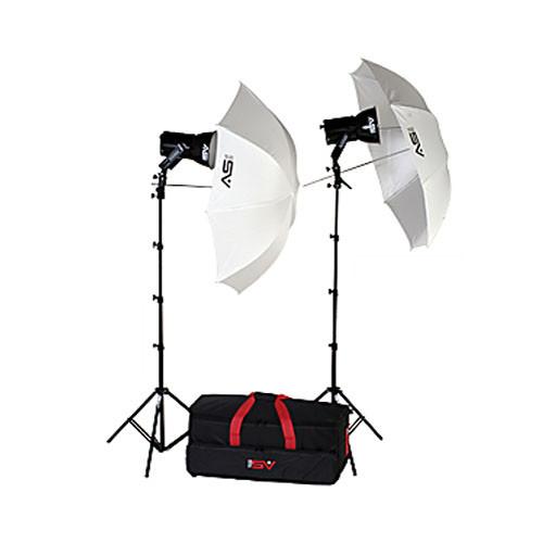 Smith-Victor KQ82 2-Light 1,200 Watt Ultra Quartz Location Kit (120V)