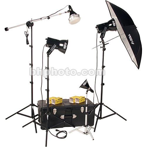 Smith-Victor K84 4-Light 1000-Watt Ultra Cool Portrait Kit (120 VAC)