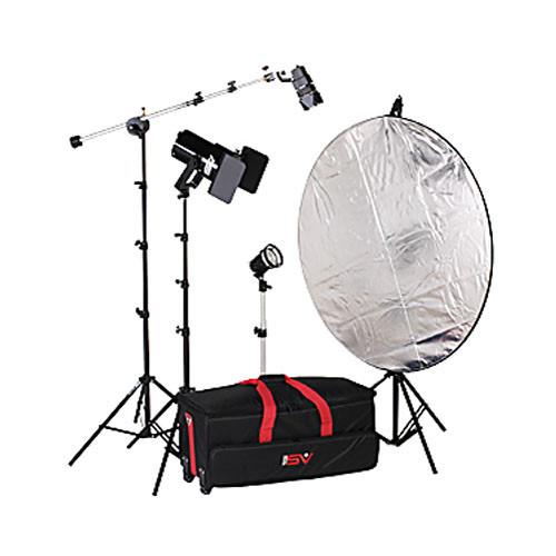 Smith-Victor K64 3-Light 1000-Watt Quartz Portrait Kit (120V)