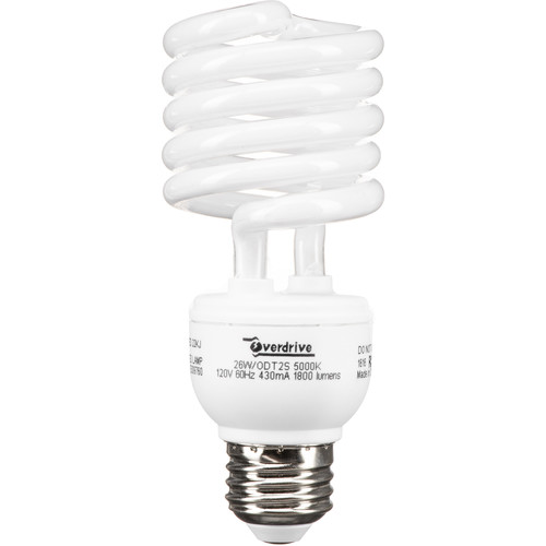 Smith-Victor 26W Spiral Fluorescent Lamps, Pack of 3 (120 VAC)