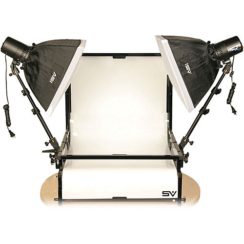 Smith-Victor TST-S2 Two Monolight Shooting Table Kit (110VAC)