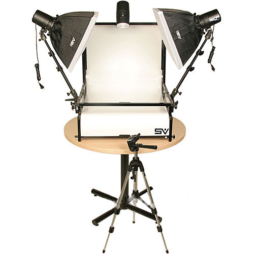 Smith-Victor TST-S3 Three Monolight Shooting Table Kit (110VAC)