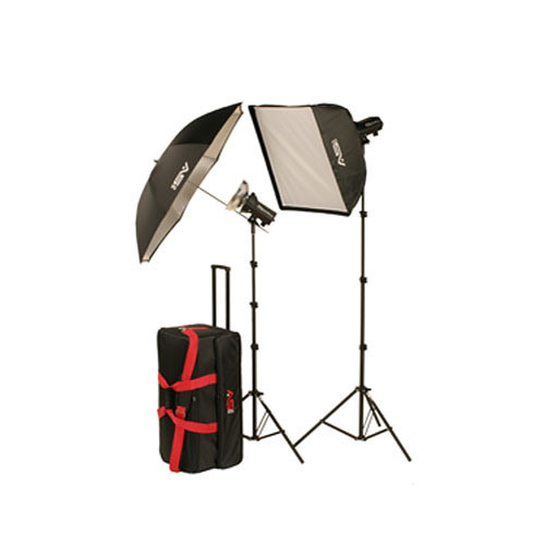 Smith-Victor FL600K 640Ws Two-Light Softbox Kit