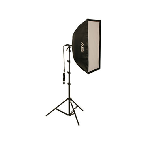Smith-Victor KSB-500F Economy Soft Box Light Kit (120V)