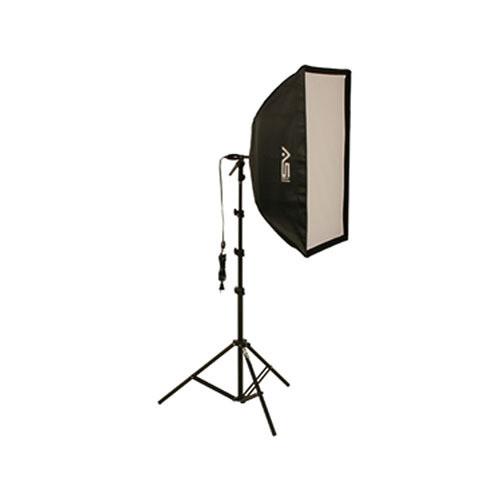 Smith-Victor KSB-500F Economy Soft Box Light Kit (120V)